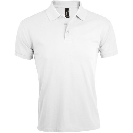 Men`s Polo Shirt Prime in White von SOL´S (Artnum: L527