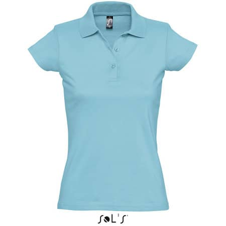 Women`s Polo Shirt Prescott von SOL´S (Artnum: L534