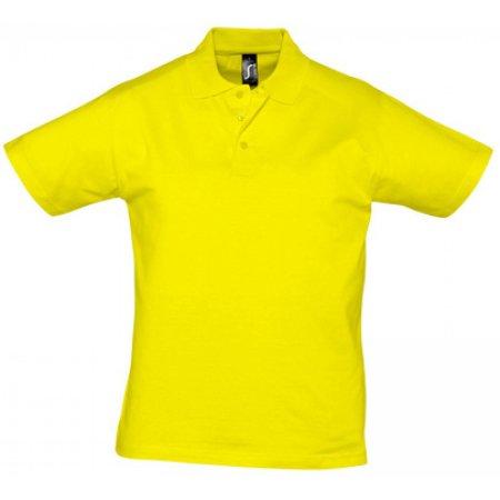 Men Polo Shirt Prescott in Lemon von SOL´S (Artnum: L538