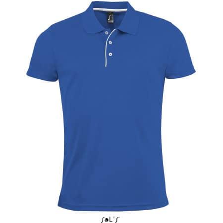 Men`s Sports Polo Shirt Performer von SOL´S (Artnum: L542