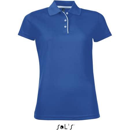 Women`s Sports Polo Shirt Performer von SOL´S (Artnum: L544