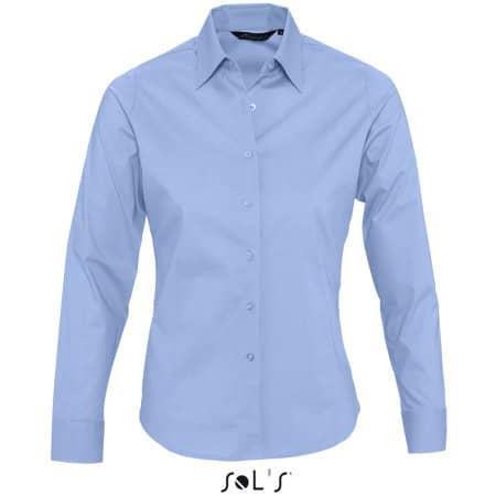 Ladies` Long Sleeved Stretch Shirt Eden von SOL´S (Artnum: L634