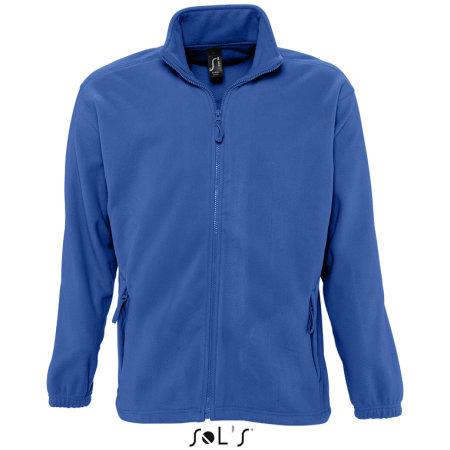Fleecejacket North in Royal Blue von SOL´S (Artnum: L742