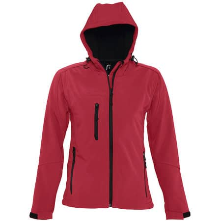 Women`s Hooded Softshell Jacket Replay von SOL´S (Artnum: L849