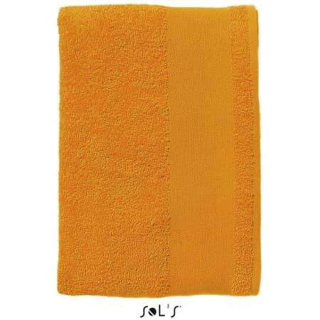 Hand Towel Island 50 in Orange von SOL´S (Artnum: L890