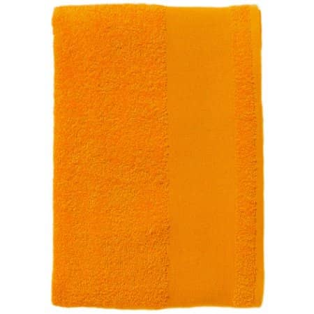 Bath Towel Island 70 in Orange von SOL´S (Artnum: L891