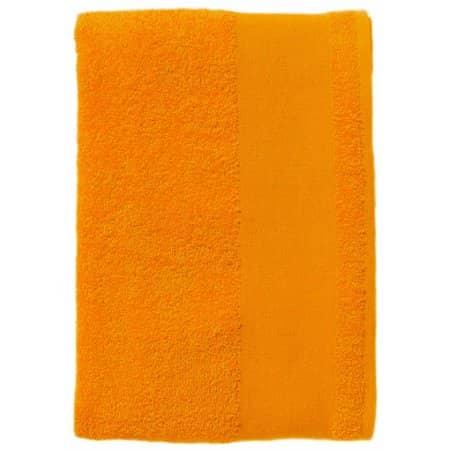 Bath Sheet Island 100 in Orange von SOL´S (Artnum: L892