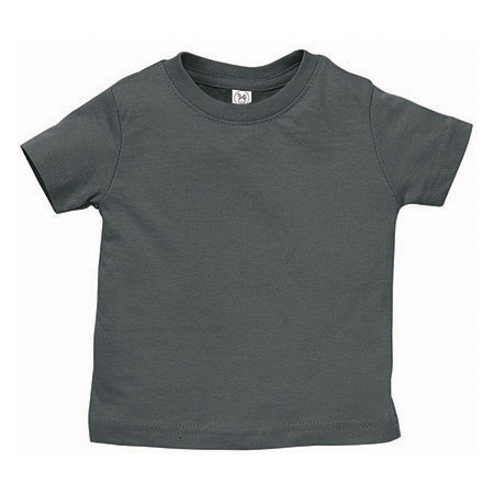 Infant Fine Jersey T-Shirt in Charcoal von Rabbit Skins (Artnum: LA3322