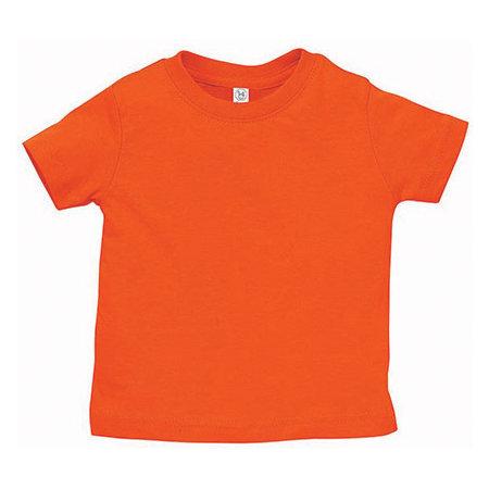Infant Fine Jersey T-Shirt in Orange von Rabbit Skins (Artnum: LA3322