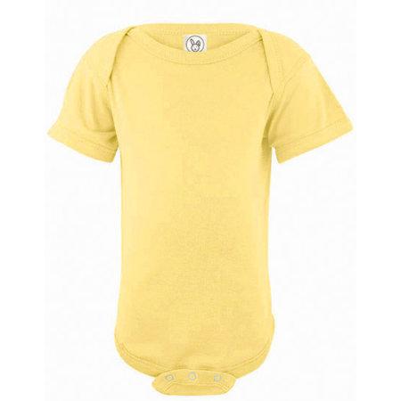 Infant Fine Jersey Short Sleeve Bodysuit von Rabbit Skins (Artnum: LA4424