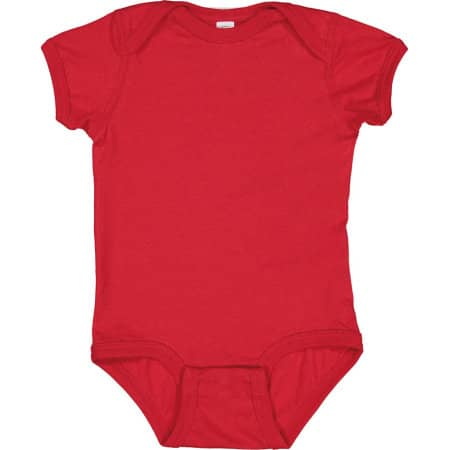 Infant Fine Jersey Short Sleeve Bodysuit von Rabbit Skins (Artnum: LA4424N