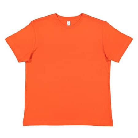 Youth Fine Jersey T-Shirt in Orange von Rabbit Skins (Artnum: LA6101