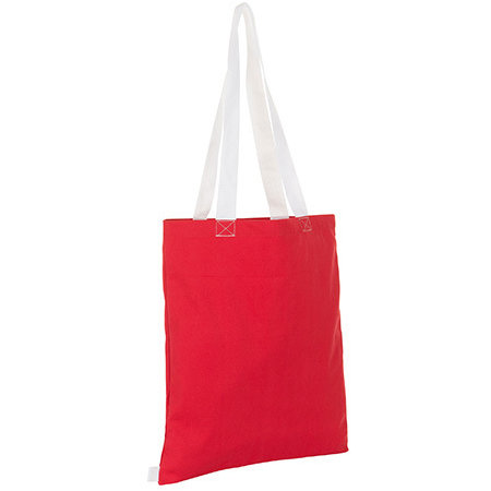 Hamilton Shopping Bag in Red White von SOL´S (Artnum: LB01683