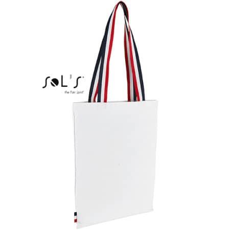 Shopping Bag Etoile in White von SOL´S (Artnum: LB02119