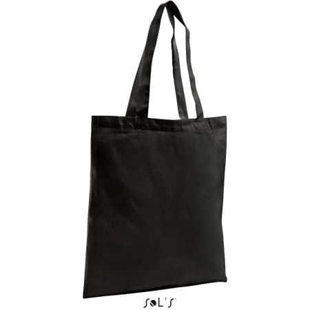Organic Shopping Bag Zen in Black von SOL´S Bags (Artnum: LB76900