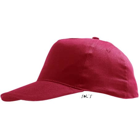 Kids` Cap Sunny in Red von SOL´S (Artnum: LC88111