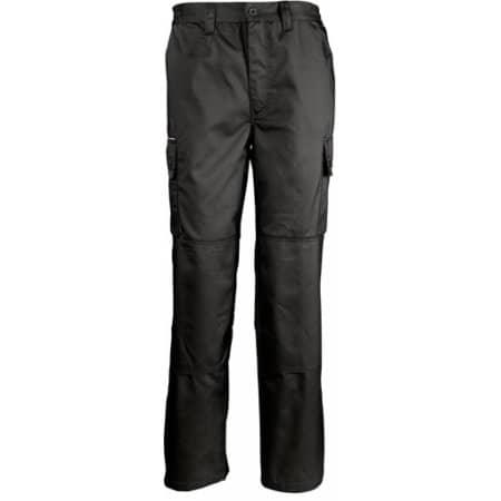 Men`s Workwear Trousers Active Pro in Black von SOL´S ProWear (Artnum: LP80600