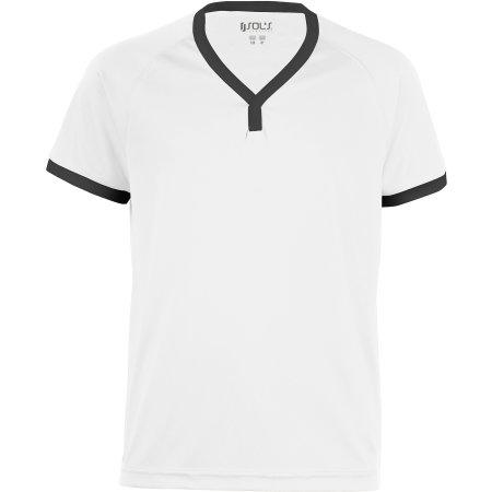 Kids` Short-Sleeved Shirt Atletico von SOL´S Teamsport (Artnum: LT01176