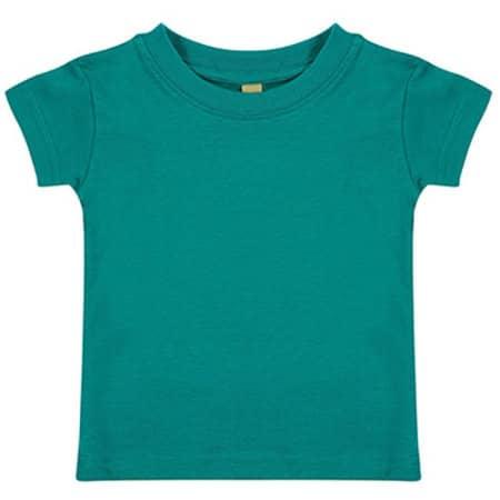 Baby-Kids` Crew Neck T-Shirt in Jade von Larkwood (Artnum: LW020