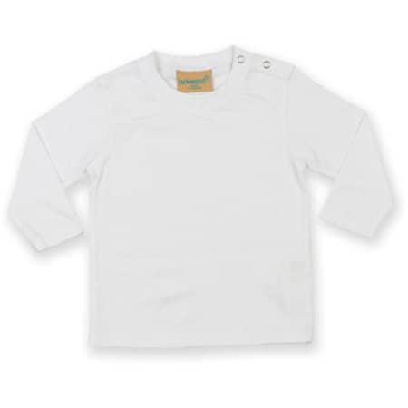 Long Sleeved T-Shirt in White von Larkwood (Artnum: LW021