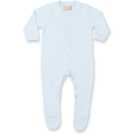 Baby Sleepsuit in Pale Blue von Larkwood (Artnum: LW050