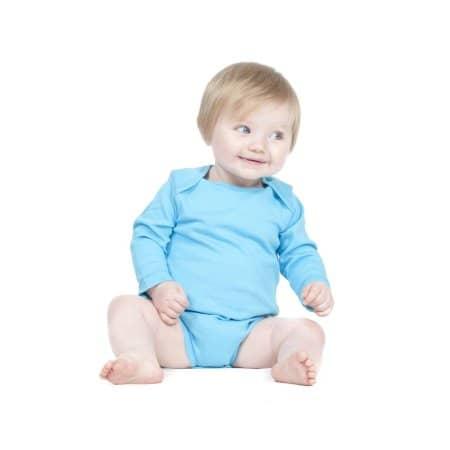 Long Sleeved Baby Bodysuit von Larkwood (Artnum: LW052