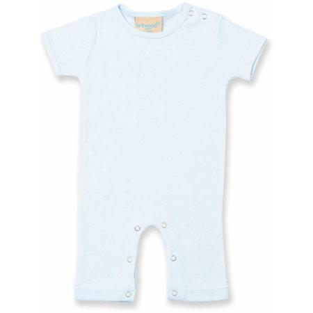 Short Sleeved Romper in Pale Blue von Larkwood (Artnum: LW054