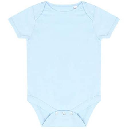 Essential Short Sleeved Bodysuit in Pale Blue von Larkwood (Artnum: LW500