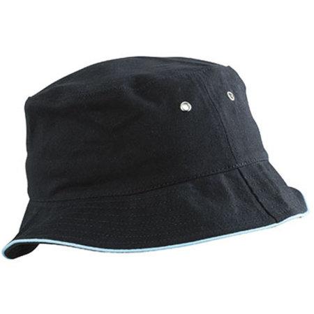 Fisherman Piping Hat in Black|Mint von myrtle beach (Artnum: MB012