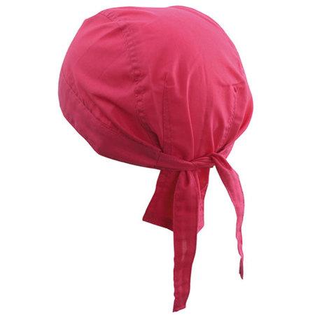 Bandana Hat in Pink von myrtle beach (Artnum: MB041