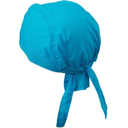 Bandana Hat in Turquoise von myrtle beach (Artnum: MB041
