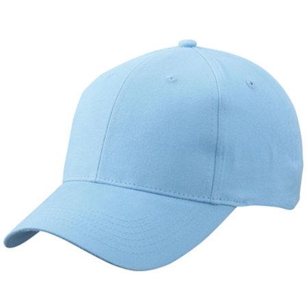 Brushed 6-Panel Cap in Light Blue von myrtle beach (Artnum: MB6118