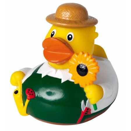 Quietsche-Ente Gärtner von mbw (Artnum: MBW31119