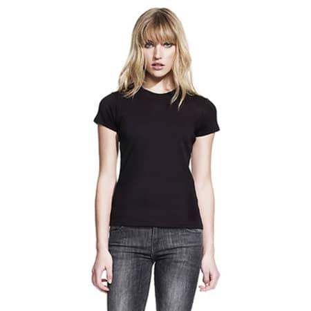 Womens Classic Fitted T-Shirt von Continental Clothing (Artnum: N02