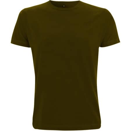 Unisex Classic Jersey T-Shirt in Khaki Green von Continental Clothing (Artnum: N03