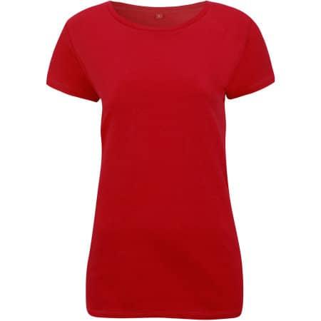 Womens Rounded Neck T-Shirt von Continental Clothing (Artnum: N09