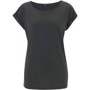 Women's Rolled Sleeve Tunic T-Shirt
