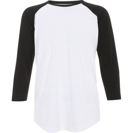 Unisex Baseball T-Shirt von Continental Clothing (Artnum: N22