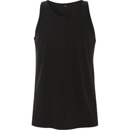 Men`s Fine Jersey Vest in Black von Continental Clothing (Artnum: N23