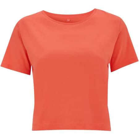 Women`s Cropped Jersey T-Shirt von Continental Clothing (Artnum: N28