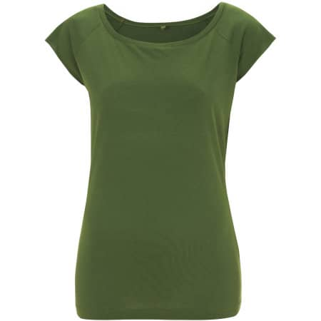 Women`s Bamboo Viscose Raglan T-Shirt von Continental Clothing (Artnum: N43