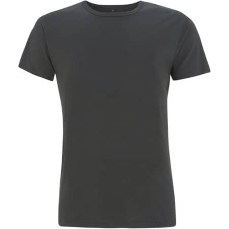 Men`s Bamboo Viscose Jersey T-Shirt in charcoal von Continental Clothing (Artnum: N45