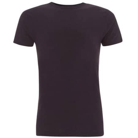 Men`s Bamboo Viscose Jersey T-Shirt in Eggplant von Continental Clothing (Artnum: N45