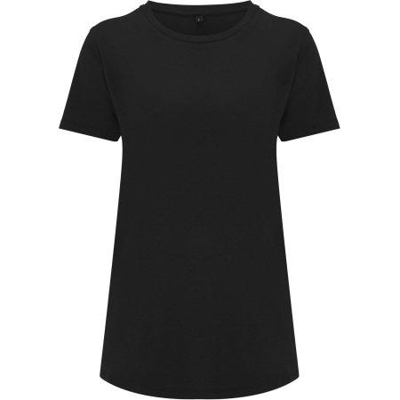 Women`s Ecovero T-Shirt in Black von Continental Clothing (Artnum: N49