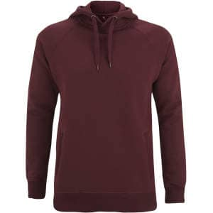 Men's / Unisex Pullover Hoody With Side Pockets