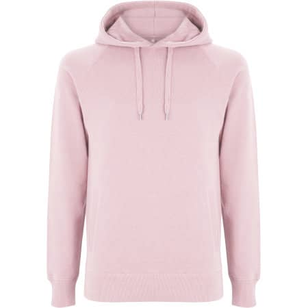 Men`s / Unisex Pullover Hoody With Side Pockets in Candy Pink von Continental Clothing (Artnum: N50P