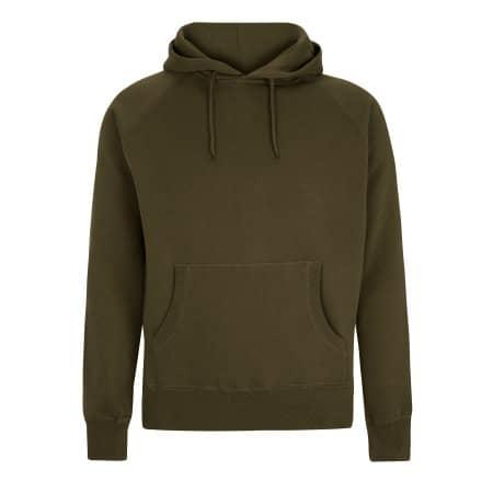 Pullover Hood in Khaki Green von Continental Clothing (Artnum: N51P