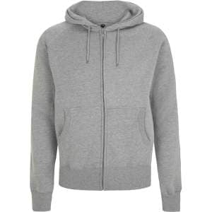 Men's Raglan Zip-Up Hoody