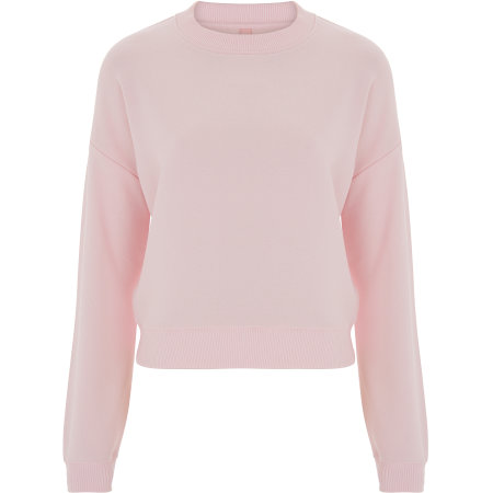 Womens Crop Sweatshirt von Continental Clothing (Artnum: N57