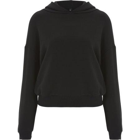 Womens Crop Hoody von Continental Clothing (Artnum: N57P